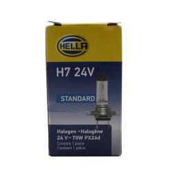 AMPOLLETA H7 24 VOLTS/70 WATTS - HELLA