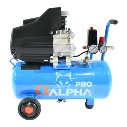 COMPRESOR MONOFASICO 2HP 24L ALPHAPRO