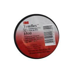 CINTA AISLANTE 1500 TEMFLEX NEGRA 18 MM X 10 MTS