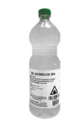 GEL ALCOHOLICO 70% 1,1 LTS