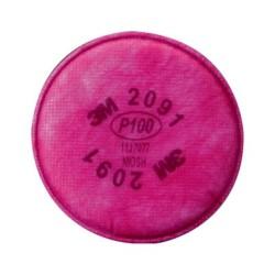 FILTRO PARA PARTICULAS 3M P100 2091 (PAR)