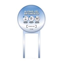 GRAFICA SOPORTE DISPENSADOR DE ALCOHOL GEL