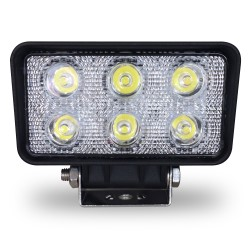 FOCO FAENERO RECTANGULAR LED 9 A 32 VOLTS